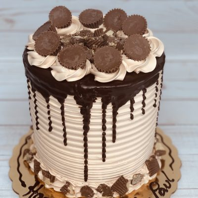 Peanut Butter Reese's Cake